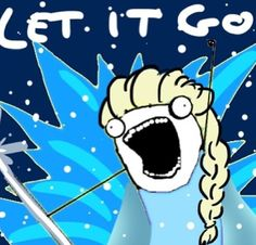 Oh look, it's me singing along to the Frozen soundtrack...