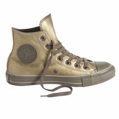 Sneakers Chuck Taylor All Star Metal Leather Hi van CONVERSE