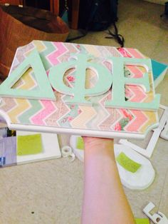 Delta phi epsilon sorority craft