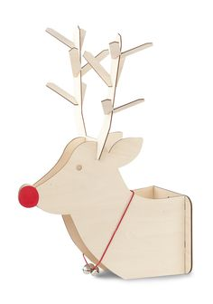 Trophée Rudolph petit modèle - Naturel