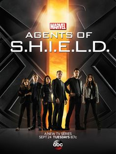 Check out the new poster for @M C's @S.H.I.E.L.D., coming to @ABCNetwork 9/24 @ 8 PM /7c