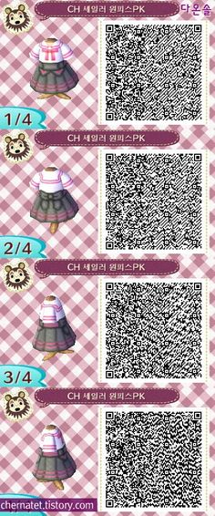 Animal Crossing:New Leaf Jessie from Team Rocket (Pokemon) Qr Code Animal Crossing, Animal Crossing Qr Codes Clothes, Totoro, Animal Games, My Animal, Code Pokemon, Motif Acnl, Ac New Leaf, Motifs Animal