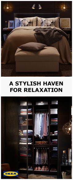 Knowing that everything is exactly where it should be makes winning at sleeping so much easier. Set yourself up to start the day right, by organising your clothes with a customised PAX wardrobe personal to you and your belongings. Visit our IDEAS page for more tips.