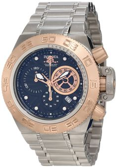 Invicta Men's 10140 Subaqua Noma IV Chronograph Black Textured Dial Watch * Check out the image by visiting the link.