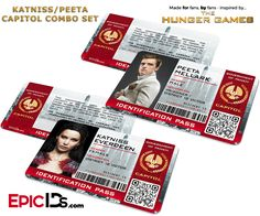PANEM TODAY, PANEM TOMORROW, PANEM FOREVER! Don't get caught roaming the capitol without your 'Capitol Identification Pass'. By official decree of President Snow, all citizens of the Capitol are requi