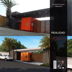 Vilaterra. Acceso desarrollo Vilapunta. Proyecto - Realidad.