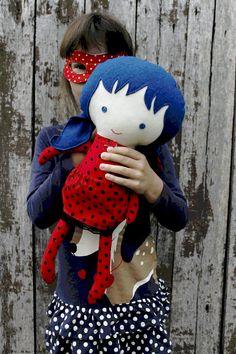 LADYBUG RAG DOLL toy super hero doll girl toy for toddler