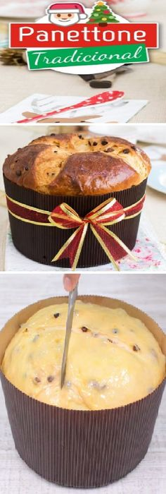 Traditional Panettone, Easter Bread or Sweet Bread Christmas Recipes By Quiero Cu … Bien Tasty, Bread Recipes, Cake Recipes, Sweet Dough, Italian Desserts, Special Recipes, Sweet Bread, Christmas Baking, Sweet Recipes