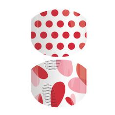 Fluttering Hearts | Jamberry  Jamberry Vday nails for smaller hands. ADORABLE!!!!!  #valentinesdaynails  yentastic4h.jamberry.com