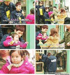 Sunggyu with kids