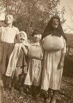 Scary Vintage Halloween Costumes