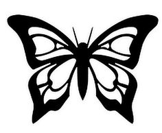 Butterfly Stencil, Butterfly Drawing, Adult Coloring Book Pages, Coloring Books, Stencil Painting, Painting & Drawing, Tiny Finger Tattoos, Simple Butterfly, Aesthetic Art