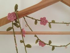 VETTALUMINOSA: crochet and beads necklace