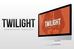 Twilight - PowerPoint Template by everslide on @creativemarket
