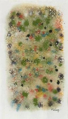 MARK TOBEY http://www.widewalls.ch/artist/mark-tobey/ #MarkTobey #abstractexpressionism #painting