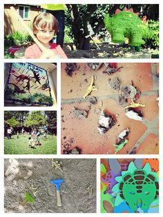 Dinosaur Birthday Party & Activities