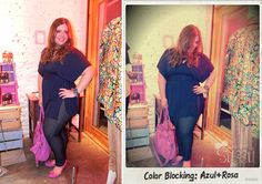 Look do dia: Color block tímido