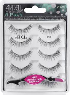 Ardell Multipack Demi 110 Black (5τμχ)  Multipack Natural 110 (5τμχ)  Οι τεχνητές βλεφαρίδες Natural της Ardell είναι εξαιρετικά δημοφιλής γιατί οι γυναίκες εκτιμούν το ότι είναι ελαφριές, επαναχρησιμοποιήσιμες, εύκολες στην εφαρμογή τους και το κυριότερο, χαρίζουν φυσικής εμφάνισης γεμάτες & υπέροχες βλεφαρίδες! Lashes, Make Up, Black, Products, Black People, Eyelashes, Makeup, Beauty Makeup, Bronzer Makeup