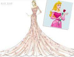 Resultado de imagem para desenhos de vestidos de noivas feitos por estilistas