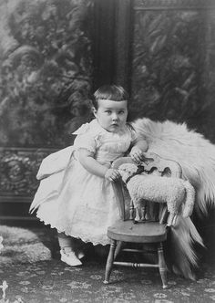 "A precious little Victorian child identified only as ""Baby Meeker"", Montreal, QC, 1886."