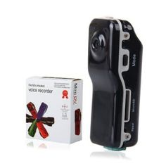 WMicroUK MD80 Mini DV DVR 720×480 Sports Helmet Bike Motorbike Camera Video Audio Recorder
