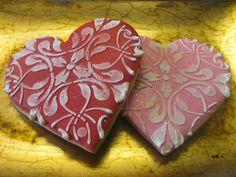 heart sugar cookie designs