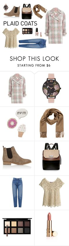 """""""All you need is coat"""" by coldasme ❤ liked on Polyvore featuring Closed, Olivia Burton, Red Camel, Hermès, Barneys New York, Carven, Yves Saint Laurent, Calypso St. Barth, Down to Earth and OPI"""