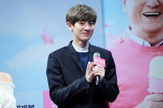 [PIC] 150312 Chanyeol - Jangsoo Shop Press Con (cr rhythmical)