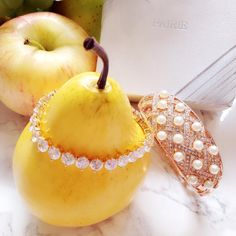 Pairie Jewerly, https://www.pairie.club #pairie #pairiejewelry #pairieint #jewelry #psweloveu #beyondpassion #fashion #fashionaccessory #fruits #summer #bracelet #bangle #pearls