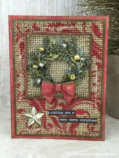 richele christensen 12 tags of 2015 holiday card series december inspiration christmas tag