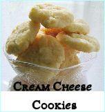 Cream cheese cookies!