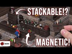 (817) Crafting D&D MAGNETIC Bar and Cupboard Stackables! - YouTube Wargaming Terrain, Cupboard, Magnets, Crafting, Youtube, Clothes Stand, Armoire, Crockery Cabinet, China Cabinets