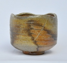 Wood-fired tea bowl. Mark Smalley.