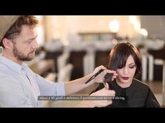 L'Oréal Professionel Pixie color miele & Cut by Fred - Tutorial - YouTube