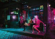 [2017' 칸광고제] 태국 방콕의 밤거리를 세련되고 아름답게 담아낸 멋진 사진 - 감각적인 비주얼 스토리텔링으로 24시간 매장 오픈을 홍보한 맥도날드(태국) 광고 McDonald's 'Loving Bangkok Night' /2017' 칸광고제 주요 부문 수상작 : 네이버 블로그