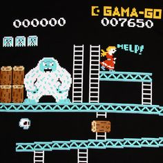 More Gama-Go brilliance...a yeti, rad. a yeti Kong? radder.