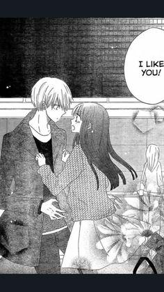 Last Game Manga - Kujou confess to Yanagi before leaving