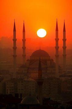 Istanbul Turkey. A beautiful city!