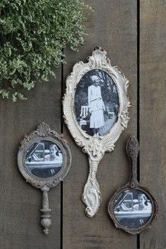 great idea for picture frame!