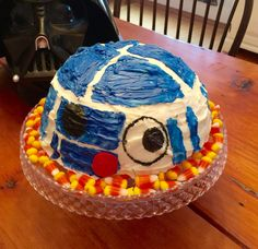R2D2 Rice Krispie treat