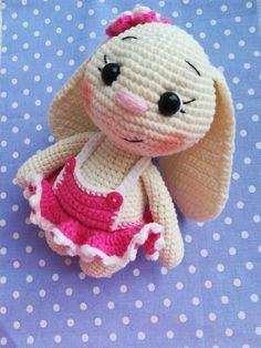 PDF Заюша. FREE amigurumi crochet pattern. Бесплатный мастер-класс, схема и описание для вязания игрушки амигуруми крючком. Вяжем игрушки своими руками! Кролик, заяц, зайчик, зайка, rabbit, hare, bunny. #амигуруми #amigurumi #amigurumidoll #amigurumipattern #freepattern #freecrochetpatterns #crochetpattern #crochetdoll #crochettutorial #patternsforcrochet #вязание #вязаниекрючком #handmadedoll #рукоделие #ручнаяработа #pattern #tutorial #häkeln #amigurumis