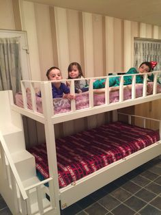 Kids love them ❤️ Stair Gate, Bunk Beds With Stairs, Toddler Bed, Storage, Girls, Room, Diy, Furniture, Home Decor