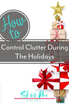 Don't let a messy house ruin your holidays! These 5 easy and practical tips showed me how to reduce clutter during the holidays, from Halloween all the way through Christmas.