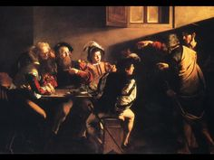 "My recent ""involuntary memory."" Caravaggio's ""The Calling of Saint-Matthew."" Description of the paining from the blog: Zeitgeist  sic itur ad astra (""thus to the stars""). Click here to read: (http://duluxdreams.wordpress.com/2012/06/28/caravaggio-the-calling-of-st-matthew/)"