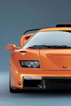 Lamborghini Diablo - Lucas loves orange cars!