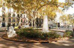 Paseo de Gracia en otoño, els jardinets, #barcelona  #events  #autumn  #terrace  #kokun #avenir
