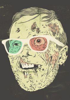 3D Zombie - Rafael Pereira a.k.a. Hafaell