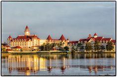 Grand Floridian Disney Resort | Love this hotel.