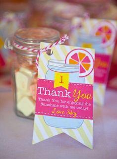 Sunshine & Lemonade First Birthday Party