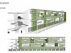 yeşil mimari cephe ile ilgili görsel sonucu